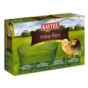 Kaytee® Wire Pen for Baby Chicks