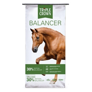 Triple Crown® 30% Ration Balancer Horse Feed