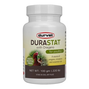 DuraStat with Oregano for Poultry Appetite Stimulation
