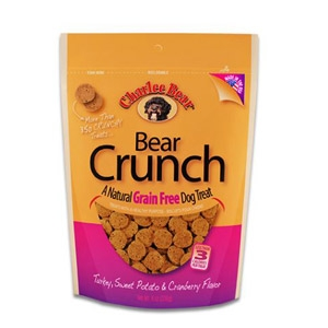 Charlee Bear® Bear Crunch Turkey, Sweet Potato, & Cranberry Flavor Dog Treats
