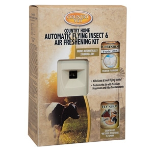 Country Vet® Automatic Flying Insect & Air Freshening Kit