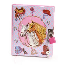 M&F Western Products® Locking Girls Diary