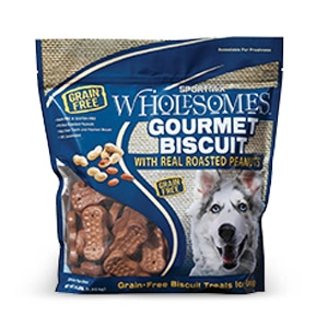 Sportmix® Wholesomes™ Gourmet Biscuit Treats with Roasted Peanuts