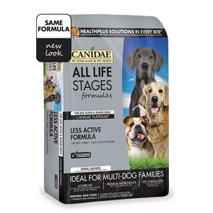 CANIDAE® All Life Stages Platinum Dog Dry Food for Less Active Dogs