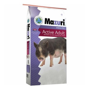 Mazuri® Mini Pig Active Adult