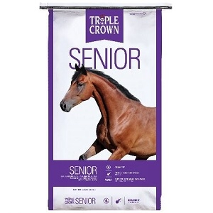 Triple Crown® Senior Formula Textured Horse Feed