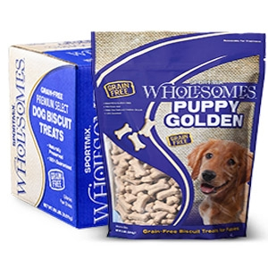 SPORTMiX® Wholesomes™ Puppy Golden Biscuit Treats