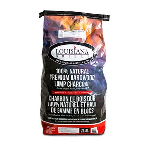 Louisiana Grill® Natural Premium Hardwood Lump Charcoal