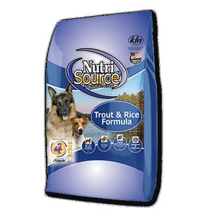 NutriSource® Trout & Rice Dog Food