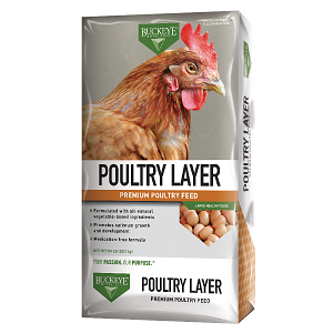 Buckeye® 16% Prosperity Poultry Layer Crumbles