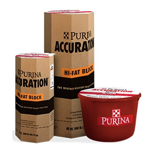Purina® Accuration® Hi-Fat Block for Cattle