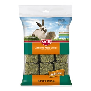 Kaytee® Alfalfa Cubes for Small Animals