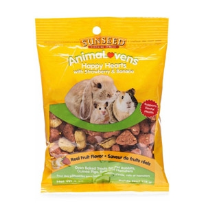 Sunseed® Animalovens Happy Hearts Oven Baked Small Animal Treats