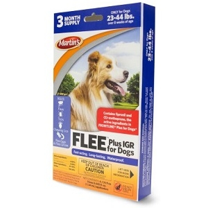 Martin´s® FLEE® Plus IGR for Dogs (23-44 lbs.)