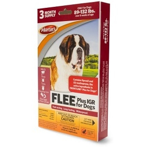 Martin´s® FLEE® Plus IGR for Dogs (89-132 lbs)