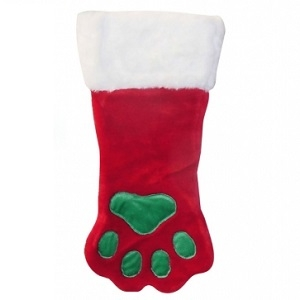 Soft Plush Paw Stocking