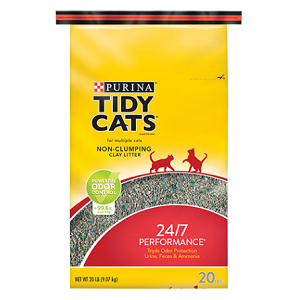 Tidy Cats Non-Clumping 24/7 Performance Cat Litter - 40 lb bag