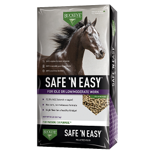Buckeye® Safe N' Easy Performance Horse Feed
