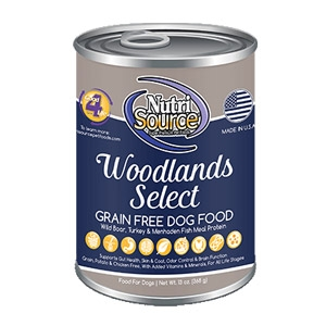 NutriSource Woodlands Select GF Canned Dog Food
