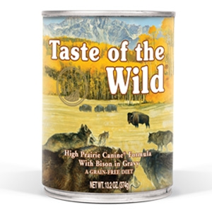 Taste of the Wild® High Prairie Canine Formula Canned Dog Food