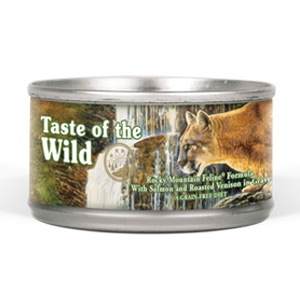 Taste of the Wild® Rocky Mountain Grain Free Canned Cat Food