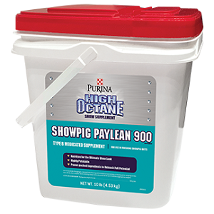 High Octane® Showpig Paylean® 900 Show Supplement