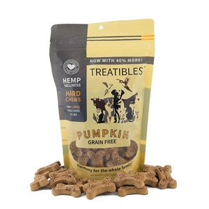 Treatibles® Chews Large Pumpkin Flavor Treats