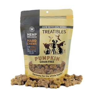 Treatibles® Chews Small Pumpkin Flavor Treats