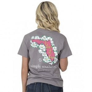 Simply Southern - I Love it Here Youth Tee