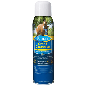 Farnam Grand champion fly repellent and shine spray 15 oz