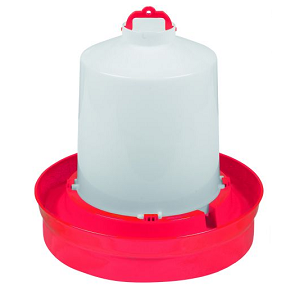 2 Gallon Deep Base Poultry Waterer