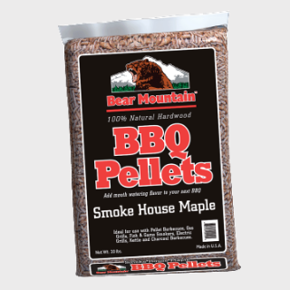 Bear Mountain Smoke House Maple BBQ Pellets