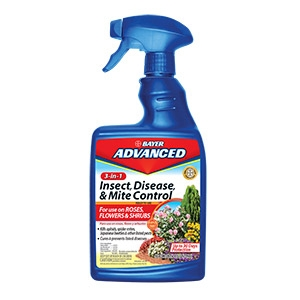Bayer Advanced® 3-in-1 Insect, Disease, & Mite Control