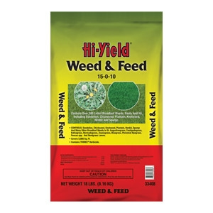 Hi-Yield® Weed & Feed 15-0-10