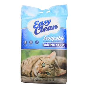 EasyClean Scoopable Cat Litter w/ Baking Soda