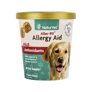 NaturVet® Aller-911® Allergy Aid Soft Chews