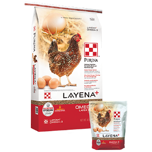 Purina® Layena® Plus Omega-3 Layer Pellets