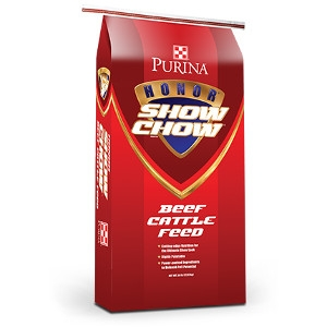 Purina® Honor® Show Chow® Finishing Touch® Beef Cattle Feed 50lb