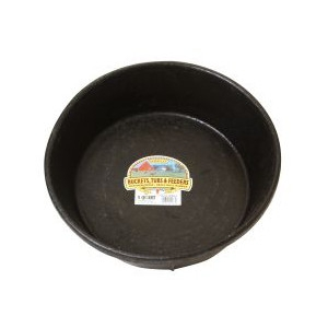 Miller Manufacturing Company 8 Quart Rubber Feed Pan