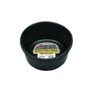 Miller Manufacturing Company 2 Quart Rubber Feed Pan