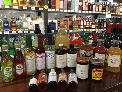 Sawyer Garden Center also carries mixers for your libations
