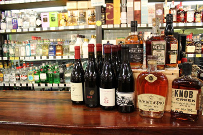 Sawyer Garden Center has an extensive wine, spirits and beer selection