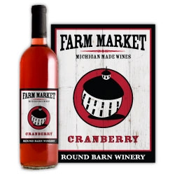 Round Barn Cranberry Wine