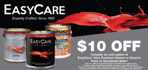 Easy Care $10.00 OFF