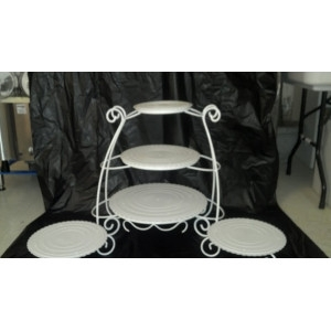 Cake Stand, Garden Style