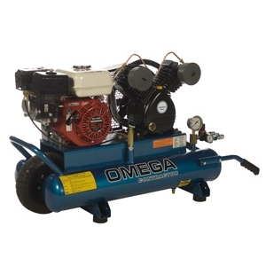 Omega Gasoline Air Compressor