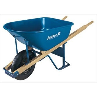 6 cu. ft. Steel Contractor Wheelbarrow