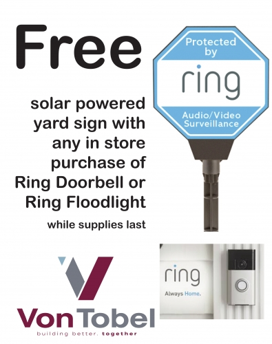 Ring Products Now Available At Von Tobels!