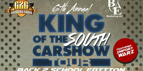 6th Annual King Of The South Car Show Tour