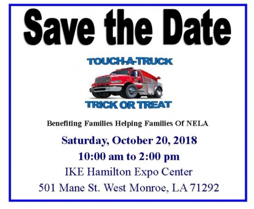 Touch a Truck & Trick or Treat Event